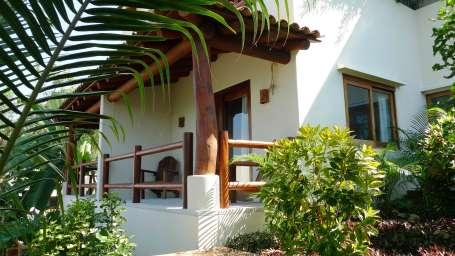 Casa Solana Zihuatanejo Jr suite terrace Solana BandB Zihuatanejo Mexico