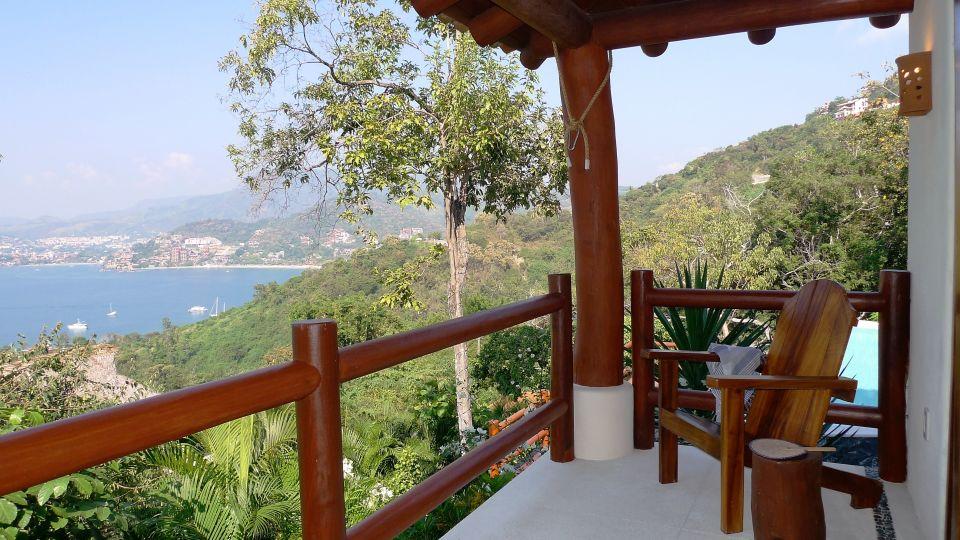 Casa Solana Zihuatanejo Pinzan terrace Solana BandB Zihuatanejo Mexico