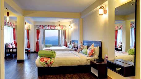family room Summit Namnang Courtyard Spa Gangtok