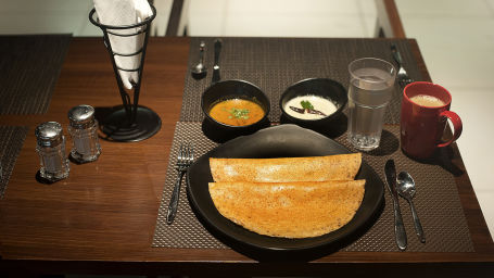 South Indian Tiffin Breakfast at Purple Cloud Hotel Bangalore Airport Hotel 1