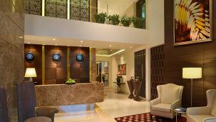 Lobby, Hotel Residency Sarovar Portico Mumbai