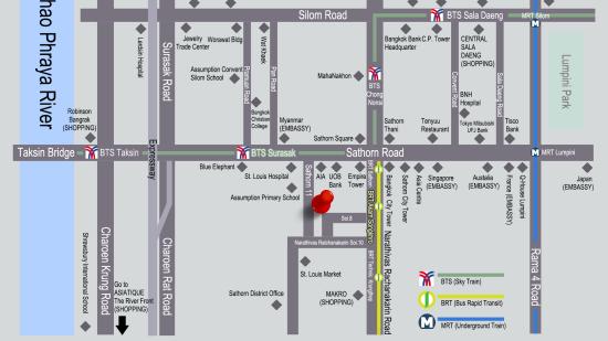 Zensation The Residence, Bangkok Bangkok Zensation-New-map-2016-dec-26-PNG8