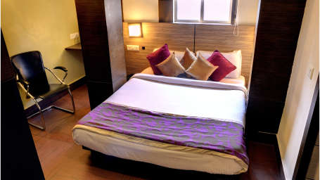 Deluxe Non AC Room at Mount Embassy Hotel Siliguri