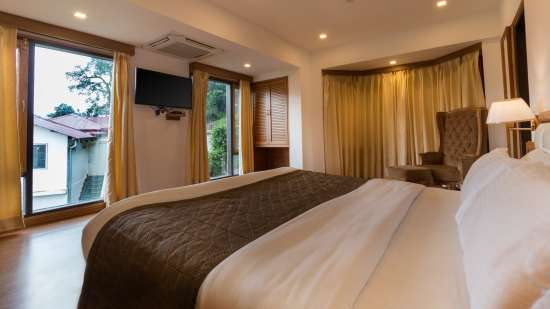 best hotel rooms in Mussoorie on Mall Road, Stay in Mussoorie, Hotel Pacific Mussoorie