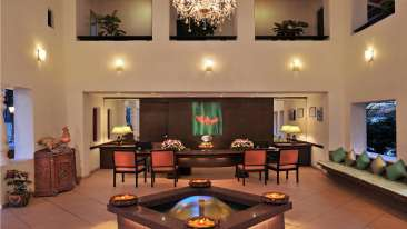 Lobby at Phoenix Park Inn, Goa - A Carlson Brand Managed by Sarovar Hotels, resorts near candolim beach