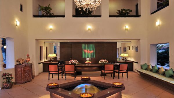 Lobby at Park Inn by Radisson Goa Candolim - A Carlson Brand Managed by Sarovar Hotels, resorts near candolim beach