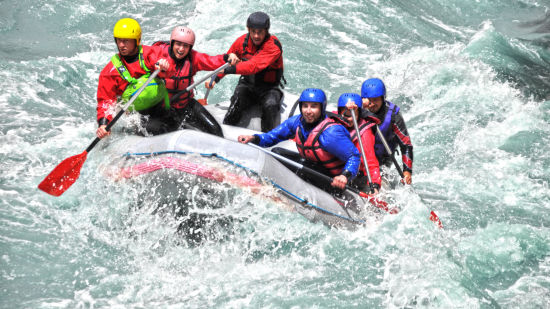 Leisure Hotels  white water rafting adventure by leisure hotels