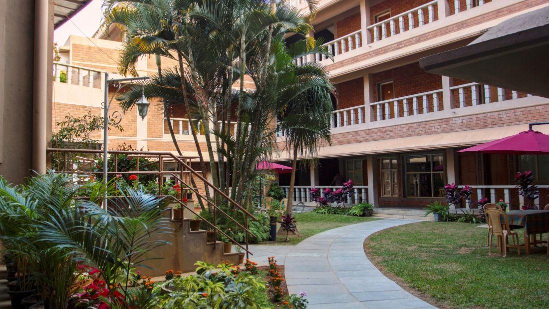 SAIACS CEO Centre, Bangalore Bangalore Lawn view SAIACS CEO Centre Bangalore