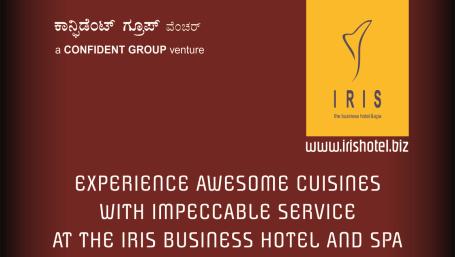 Iris Hotel, MG Road, Bangalore Bangalore F B promotions 1