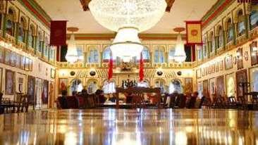 Darbar Hall Museum Bellevue Sarovar Portico Junagadh