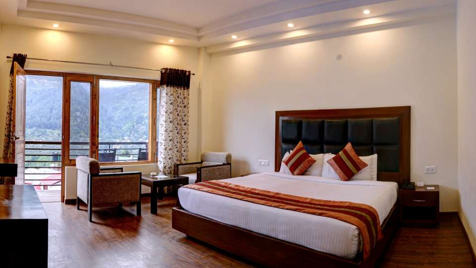 Deluxe Room at Summit Chandertal Regency Hotel Spa Manali 7