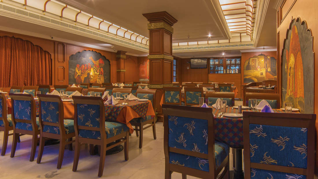 Hotel Annamalai International, Pondicherry Pondicherry Haveli - 1 - Veg Restaurant Hotel Annamalai International Pondicherry 6
