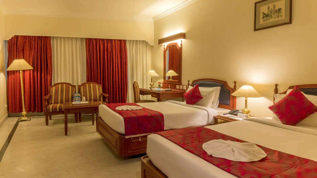 Hotel Annamalai International, Pondicherry Pondicherry Premium Room - Twin Bed Hotel Annamalai International Pondicherry 1