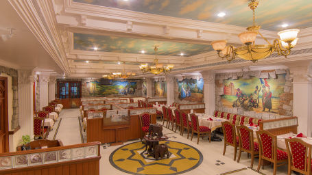 Hotel Annamalai International, Pondicherry Pondicherry The Rennaissance Room - Multicuisine Restaurant  Hotel Annamalai International Pondicherry 1