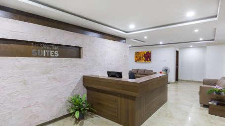 The Sanctum Suites, Bangalore Bangalore Lobby and Reception 2 The Sanctum Suites Bangalore