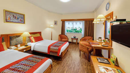 Deluxe Room at Ambassador Ajanta Aurangabad 1