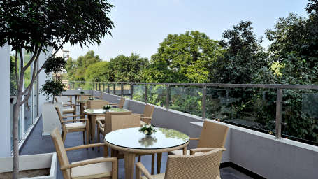 Terrace Grill at Hometel Chandigarh, rooftop restaurant in chandigarh
