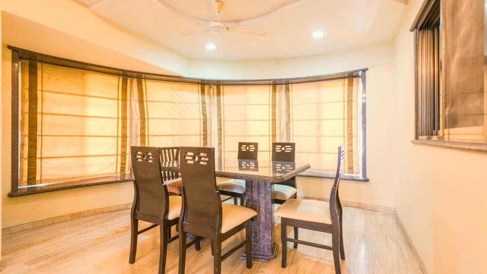 Dragonfly Apartments, Andheri, Mumbai Mumbai Dining Area Dragonfly Service Apartments Emerald Krishna Enclave Andheri Mumbai