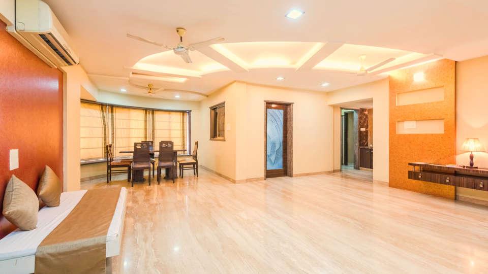 Dragonfly Apartments, Andheri, Mumbai Mumbai Hall Dragonfly Service Apartments Emerald Krishna Enclave Andheri Mumbai