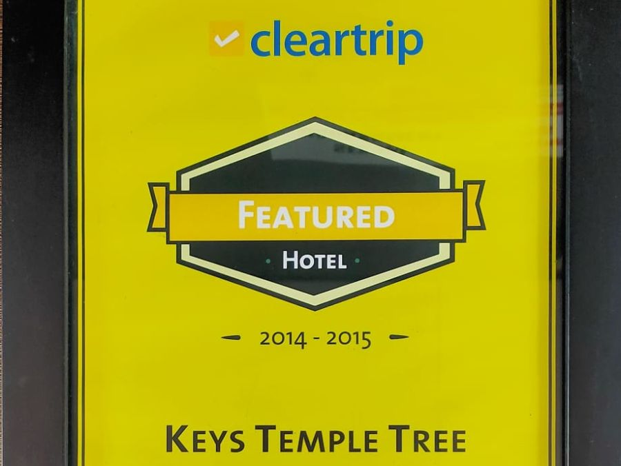 2014 Award - 3 Cleartrip Featured Hotel