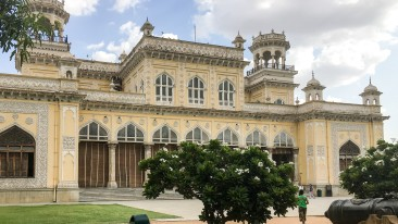 Chowmahalla Palace of Hyderabad near Daspalla