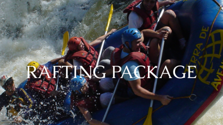 The Bungalows  Rafting Package