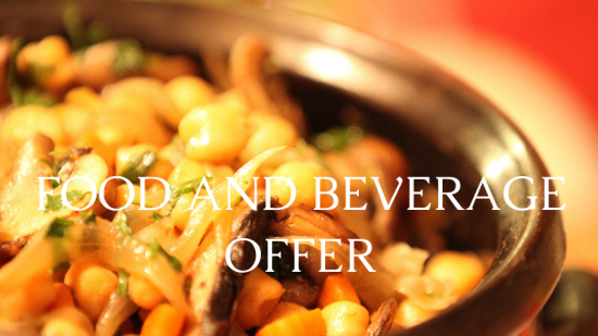 The Bungalows  food and beverages 1 offers