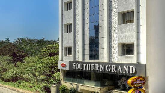 Facade, Hotel Southern Grand, Hotel in Vijayawada