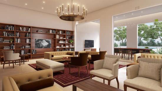 Lounge View, Marasa Sarovar Premiere Bodhgaya, Hotels in Bodhgaya