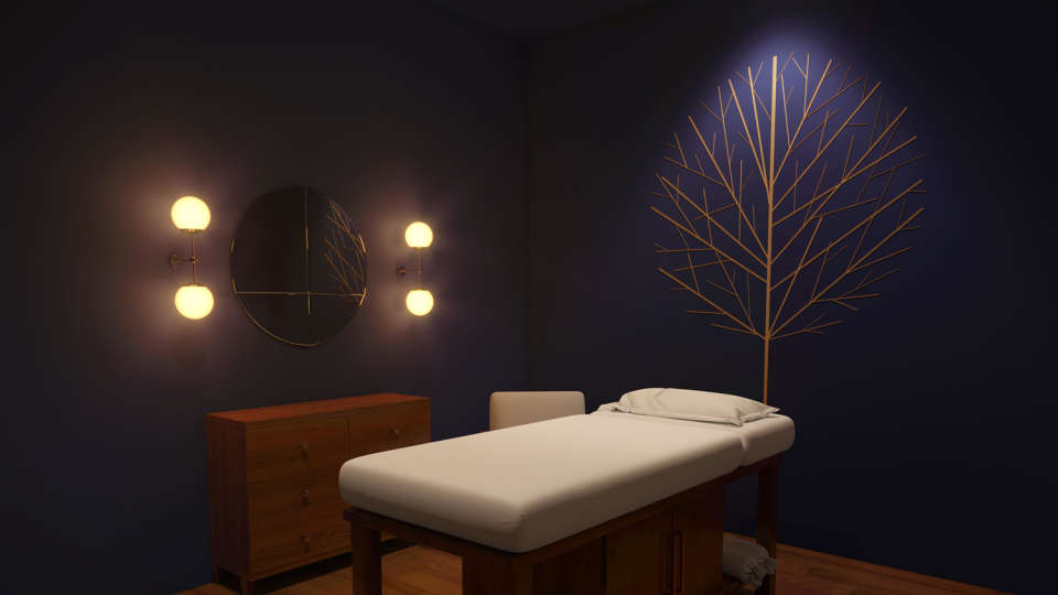 Spa room View 1