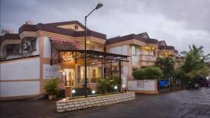 Facade, Lotus Beach Resort Benaulim Goa, Resort near Benaulim Beach