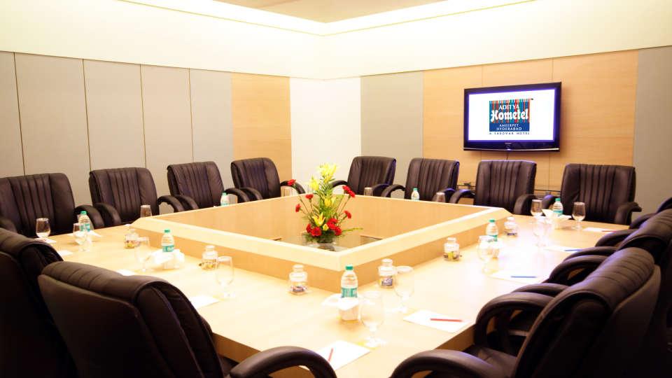 Aditya Hometel Hyderabad Conference Room 1 Aditya Hometel Ameerpet Hyderabad 2