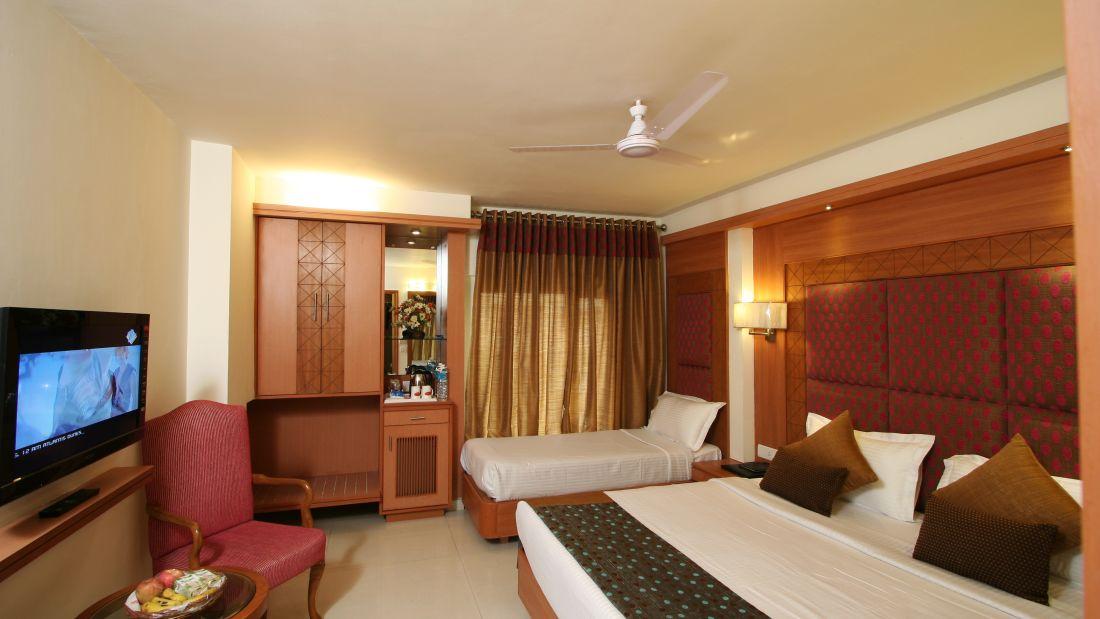 Interior of Royal Southern rooms at Hotel Southern in New Delhi