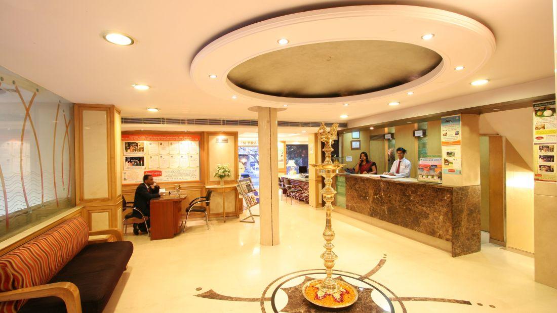 Lobby of Hotel Southern - Hotel near New Delhi Railway Station