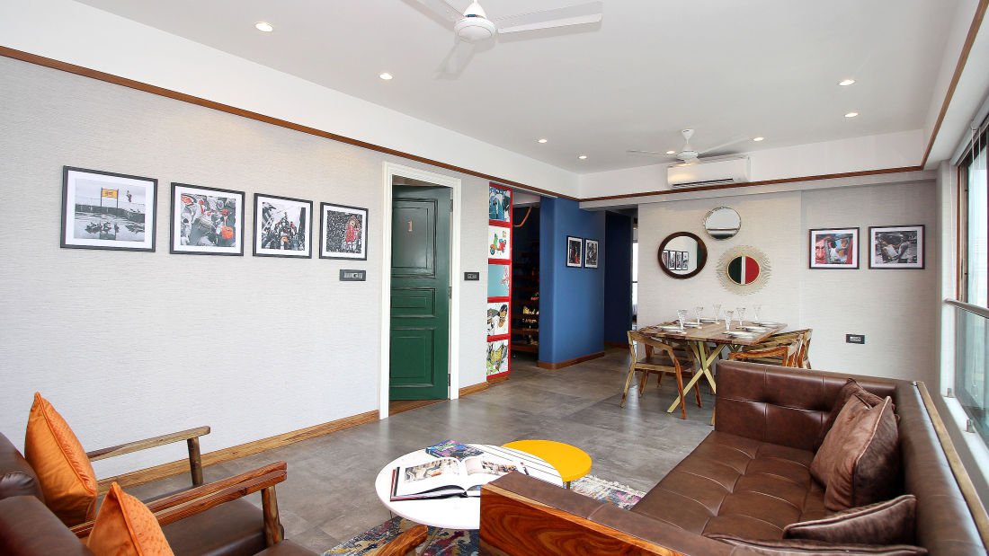 Living Room 4, Serviced Apartments in Khar, Rooms in Khar, Hotels in Khar