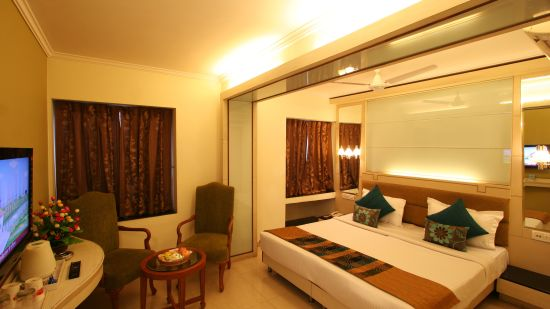 Interior of Super Deluxe Room at Hotel Southern - A budget hotel in Karol Bagh