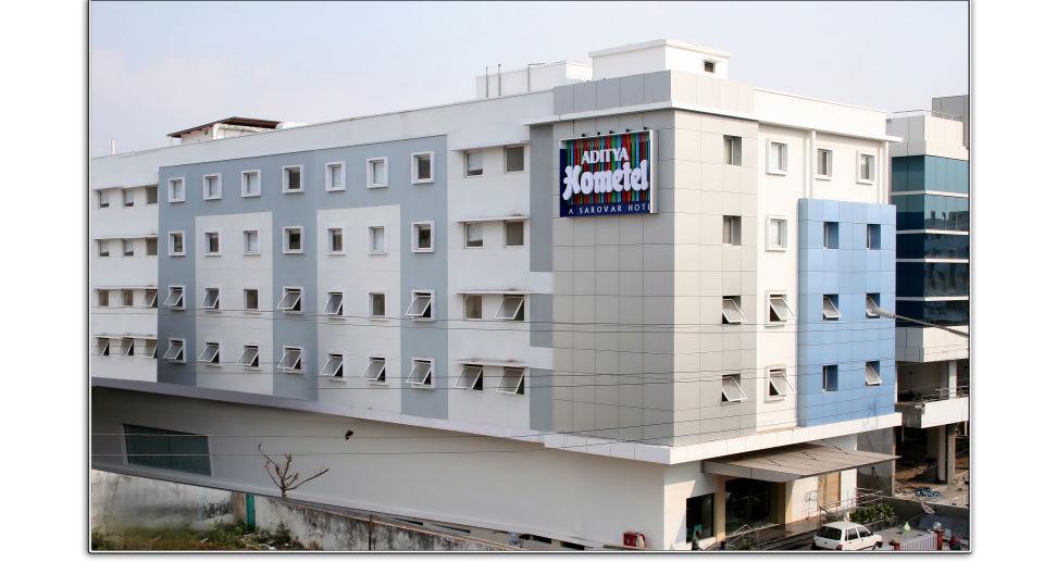 Facade at Aditya Hometel Hyderabad, 5 star hotels in hyderabad 3