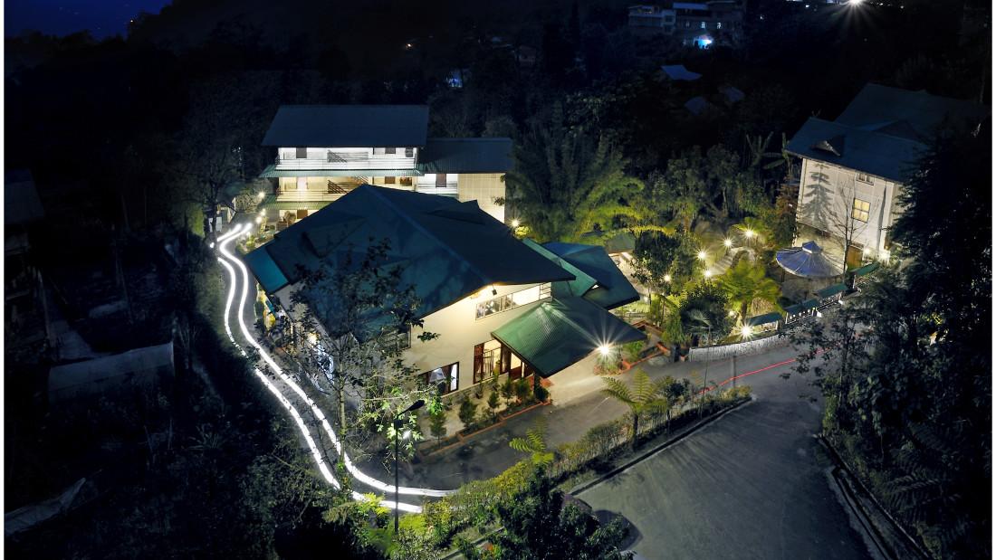 Bird eye view at Summit Norling Resort 1