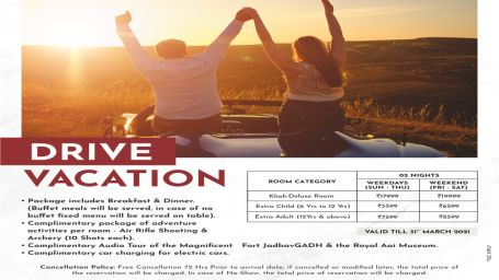 Fort - Drive Vacation Emailer