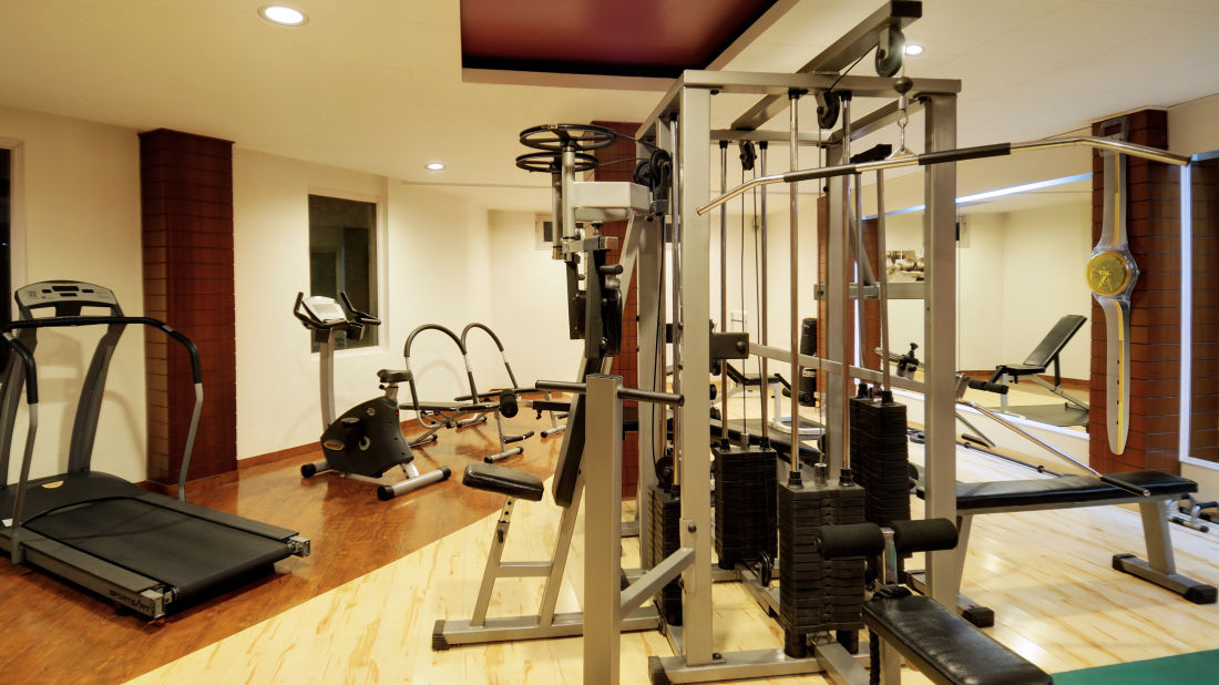 Quality Inn & Suites River Country Resort  Manali gym1 Quality Inn Suites River Country Resort Manali