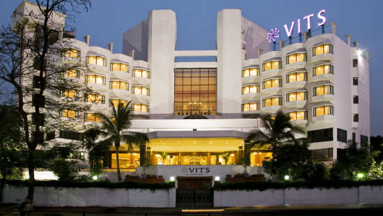 VITS Hotels  Exterior View 1 of VITS Luxury Business Hotel Aurangabad