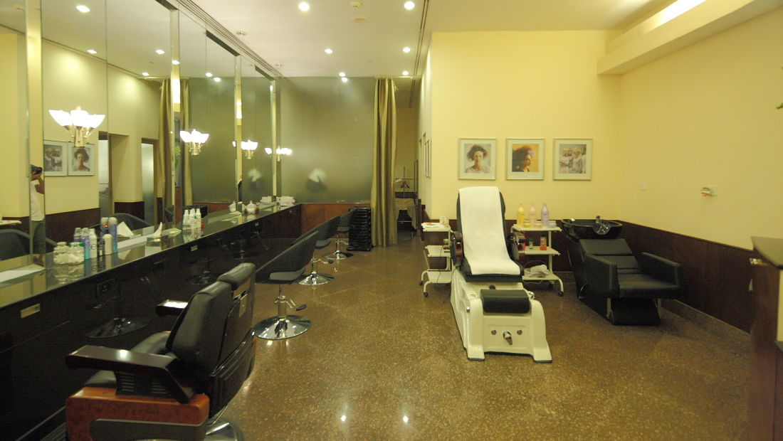 saloon, the grand hotel new delhi, Hotel Near DLF Promenade in New Delhi 49