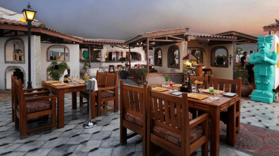 Mostly Grills restaurant at the orchid hotel mumbai vile parle - 5 star hotel near mumbai airport