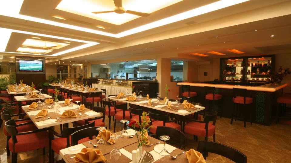 Restaurant Resort De Coracao Goa 12