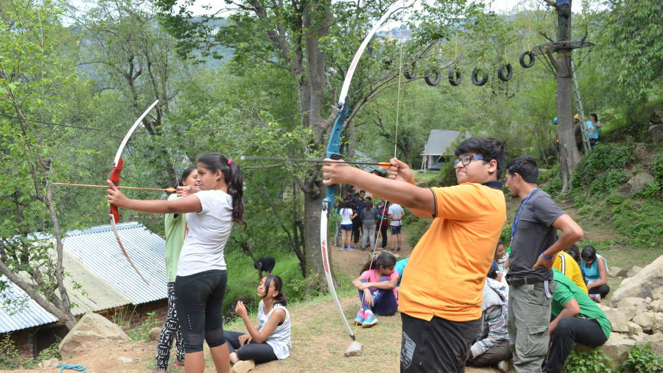 Green Getaway Camps  Archery at Green Getaway Camps