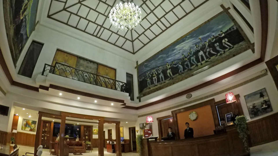 Lobby at The Royal Plaza Gangtok Hotel, Sikkim hotels 5