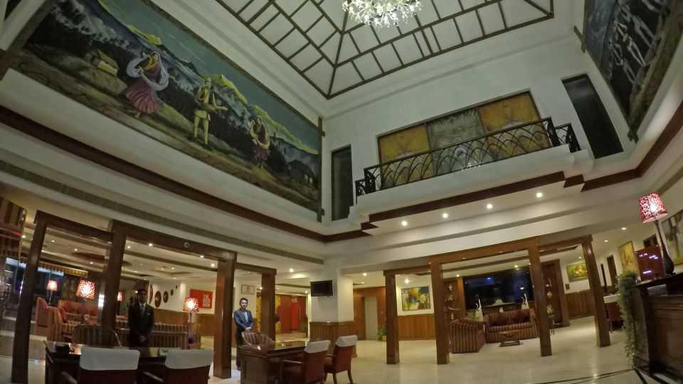 Lobby at The Royal Plaza Gangtok, Hotels in gangtok 4