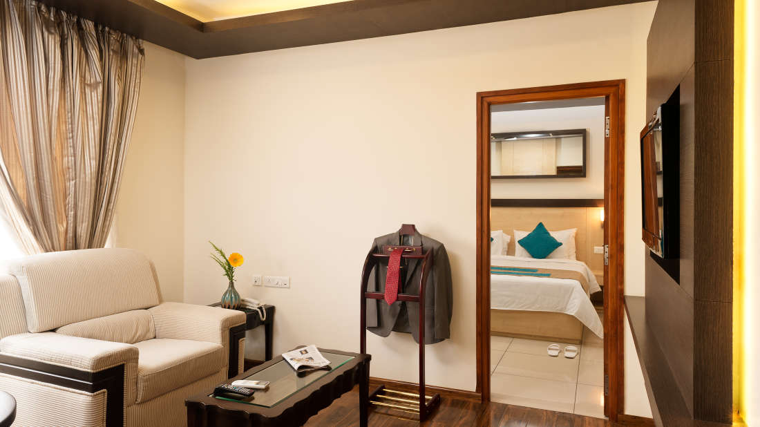 Royal Suite_Hotel Southern Grand Vijayawada, hotel rooms near Vijayawada railway station, Vijayawada hotels