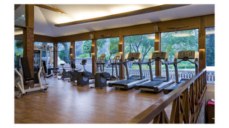 Gym and Fitness Centre at Clarks Amer Jaipur