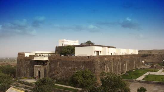 Complete Fort View of Fort JadhavGADH Resort Near Pune and Mumbai